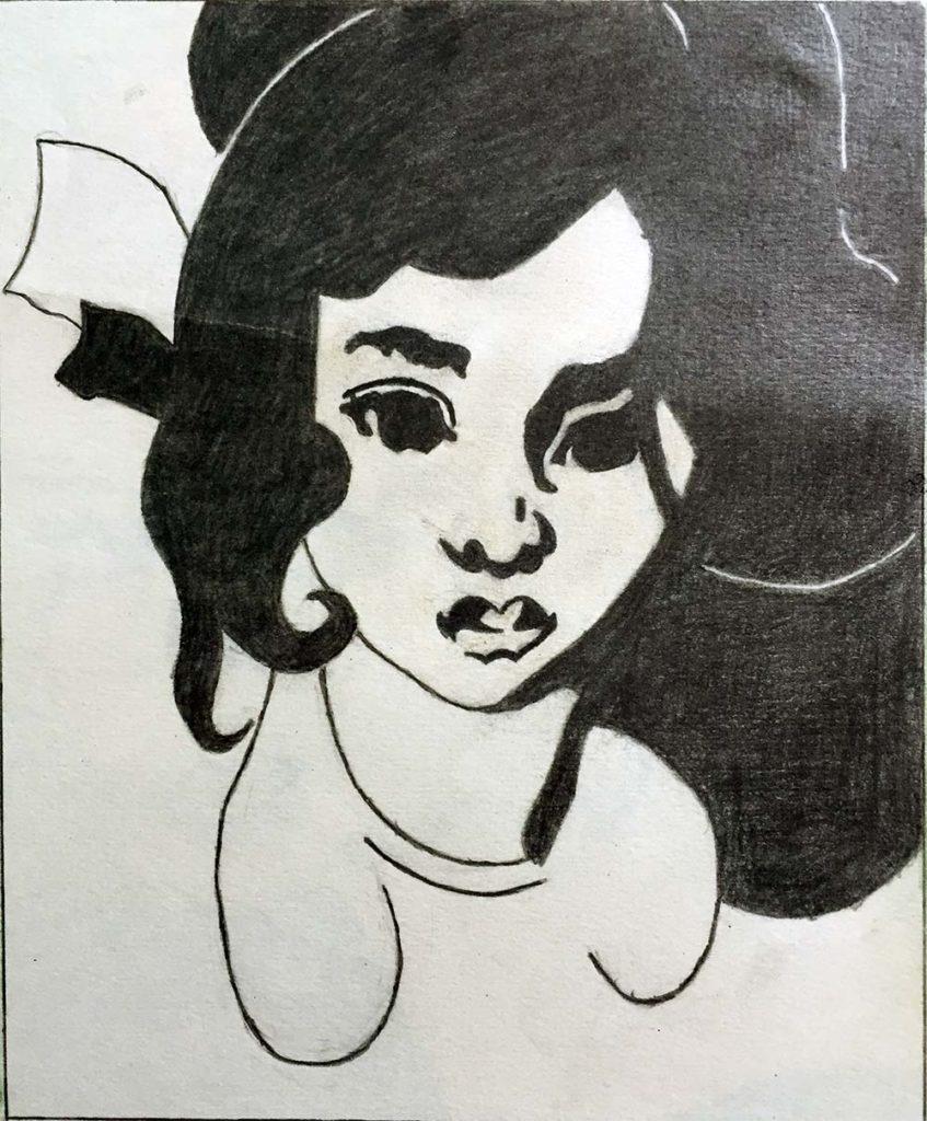 Портрет девушки. Автор Дмитрий Калита